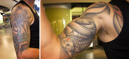 Franck - Gros plan sur son tatouage