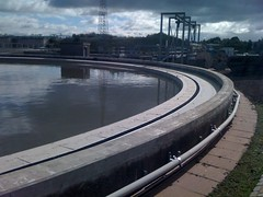 Seafield: Primary Settlement Tanks (greenerleith) Tags: edinburgh smell leith waste odour sewerage seafield scottishwater