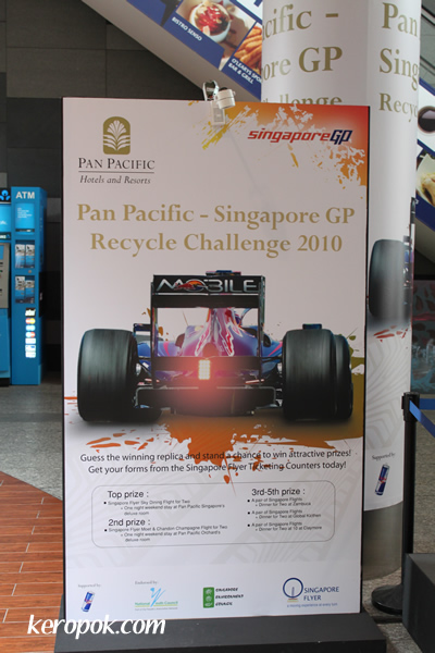 Singapore GP Recycle Challenge