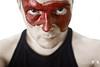 Broken I've Lied (Rick Nunn) Tags: red portrait white black face self dark death blood eyes kill rick evil highkey vest nunn chin ef28mmf18usm ydg ricknunn killkillkillmdk vsortpop