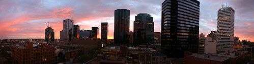 Downtown Edmonton Sunrise
