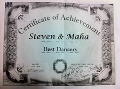 Dance Award