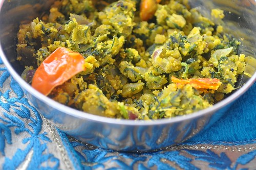 Besan Palak Curry