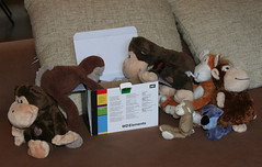 245-365 Checking it's all there (Chunky van Monkey) Tags: pictures new dog monkey check hard funky disk stuffedanimal checking chunky wrinkly westerndigital wonkey photo's macmonkey 365daysproject staorage chunky2