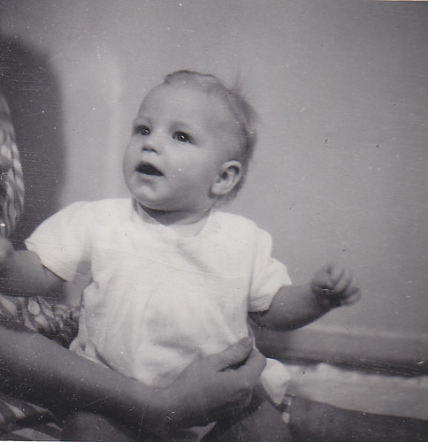 My mom as a baby