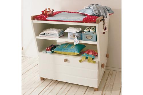 Cambiadores para bebés, mueble cambiador para bebé de la marca Hülsta