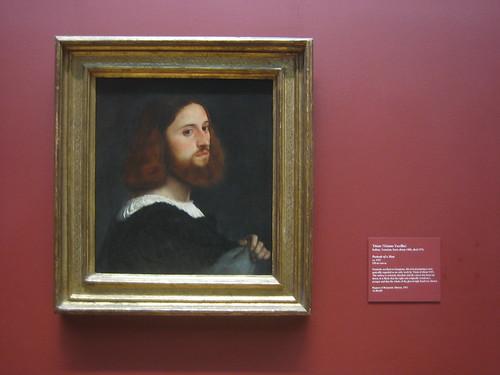 Portrait of a Man, c. 1515, Titian (Tiziano Vecellio) _8278