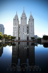 SLC Temple Reflection (2Day Designs) Tags: reflection temple utah religion saltlakecity zion mormon slc reflectingpool lds latterdaysaints saltlaketemple holyplace thechurchofjesuschristoflatterdaysaints
