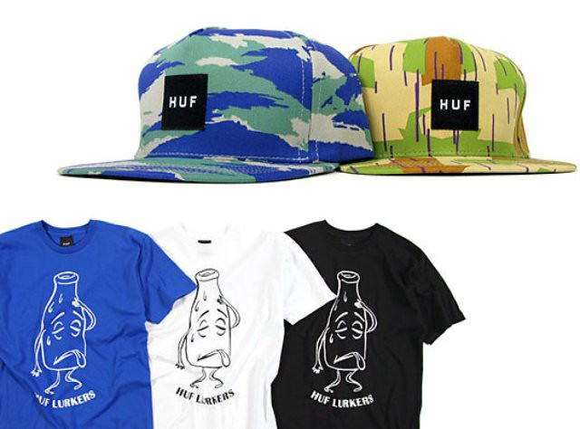 HUF-Fall-2010-Delivery-2-T-Shirts-Hats