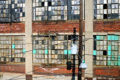 Windows (alankin) Tags: windows philadelphia broken buildings geotagged decay powerlines wires fromthetrain inpassing philly walls septa r7 50views postindustrial redbrick tioga trainlines utilitypoles nicetowntioga niknala electricpowertransmission nikkoraf24mmf28 nikond300 chestnuthilleastline 25jul2008 0800092amu geo:lat=40004779 geo:lon=75160550 n19thstreet wwestmorelandstreet
