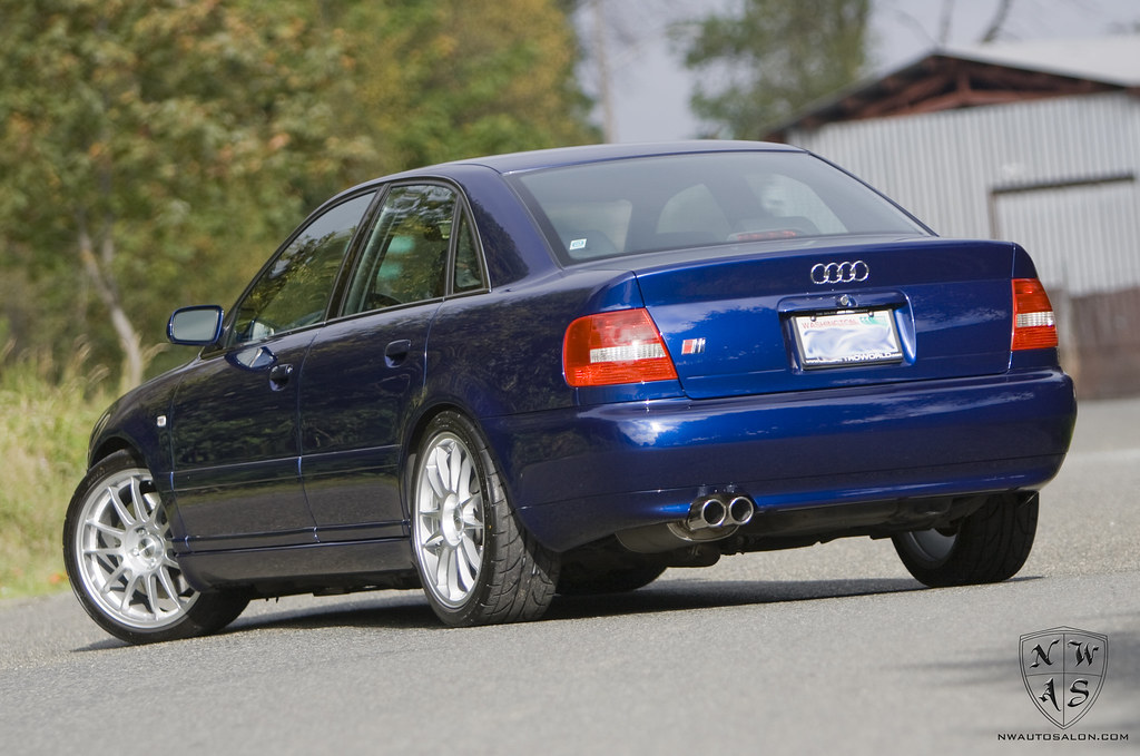 Santorin Blue B5 Audi S4 Detail Tuned By Amd Shop