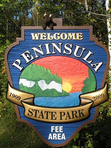 Buddy Visits Peninsula State Park!