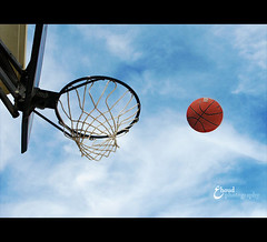 c or   (3    d ) Tags: blue sky basketball canon ball       3houd ohoud
