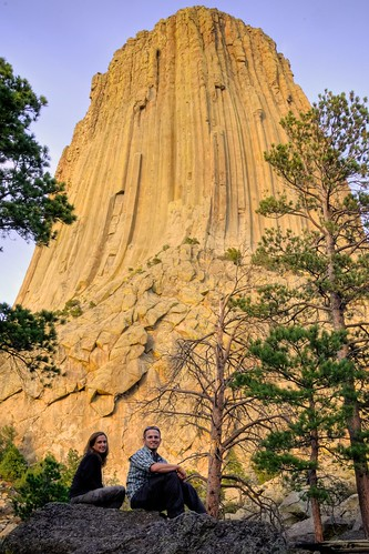 Stef & Jeff at Devils Tower