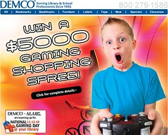 Win a $5000 gaming shopping spree for your library!
