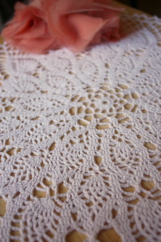 'High Tea' Doily