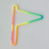Shaped rubber bands: flag mix