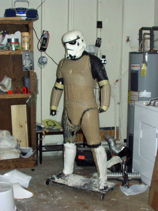 Stormtrooper calf molds