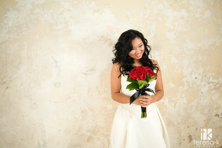 Wedding Dress session in the foothills of Northern California
