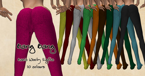 Bang Bang - Basic Wooly tights