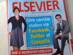 Elsevier over LinkedIn, Facebook, Twitter en Hyves