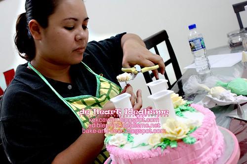 Batch 24 Sept: Tier Buttercream Wedding Cake
