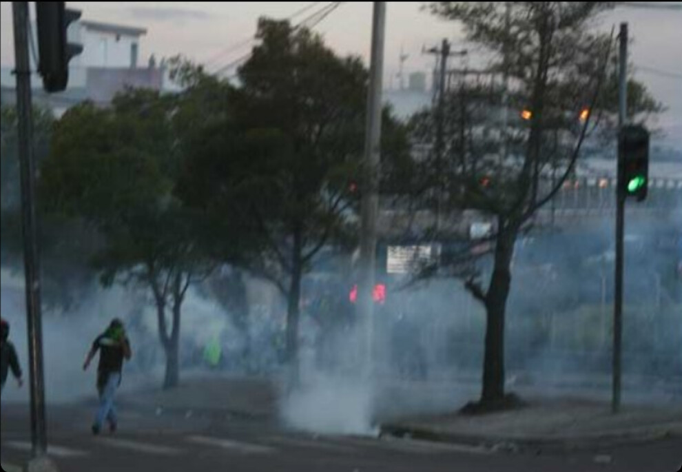 More teargas