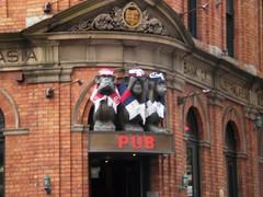 3 monkeys fans (Val in Sydney) Tags: 3 sport pub sydney monkeys fans