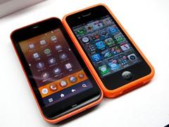 IS03 vs iPhone4