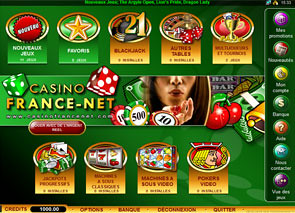 Casino France Net Lobby