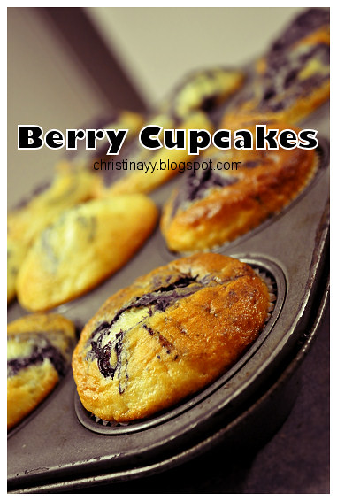 Home-Cook: Blueberry Cupcakes
