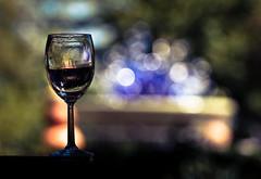 Wine Glass in the Park (mjkjr) Tags: atlanta art fall fountain statue canon rebel seasons bokeh atl wineglass dslr atlantabotanicalgardens piedmontpark newnan telephotolens 2010 selectivefocus potn october3 550d ef70200mmf4lusm t2i clubsi parterrefountaininstallation mjkjr httpwwwflickrcomphotosmjkjr october32010