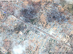UNHCR News Story: Satellite photos show spectacular urban growth west of Mogadishu (UNHCR) Tags: show africa urban news west spectacular photos satellite story growth information unhcr somalia newsstory mogadishu afgooye ceelasha