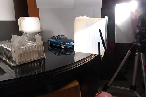 Setup shot of BMW Final