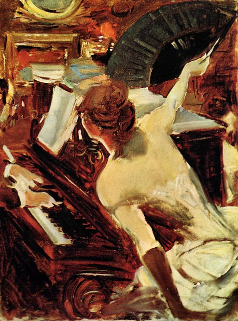 La cantante mondana by Giovanni Boldini