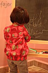 طِفلة. . . . . . . . . . . . . آخَتَلِفْ عَنْ بَقِيَةٌ البناّت ❤ (Fajer Alajmi) Tags: red baby girl painting kid paint drawing draw رسم طفلة بيبي بنوته ترسم