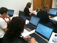 image of teachers using digistore resources.