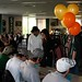 MSU Hockey players signed free autographs in residence halls across campus in just three hours as part of Dorm Storm 2010.