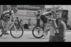 Catch me if you can (Ma Michael) Tags: blackandwhite bw white sports bike race hongkong cycling blackwhite nikon 85mm nikkor  taipo sciencepark whiteblack black   d700 flickraward  nikonflickraward nikonafnikkor85mmf14dif hongkongcyclingcriteriumrace