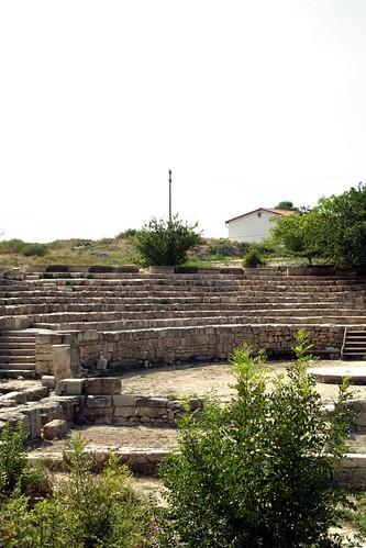 театр крым архитектура музей руины херсонес раскопки севастополь