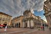 Piazza San Carlo, Torino (chicco_u) Tags: church canon torino san sigma explore carlo turin hdr mywinners platinumheartaward hdraddicted