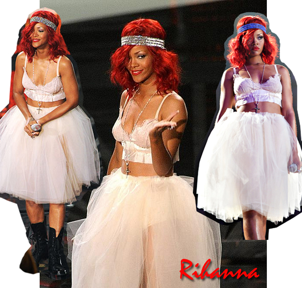 Rihanna MTV VMAs 2010 OUTFIT halloween costume diy