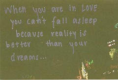 when you are in love. (ahhhlicia) Tags: love silver words heart fireworks text brightlights sharpie