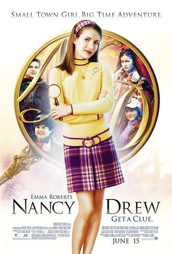 """Nancy Drew"" movie poster (2007)"
