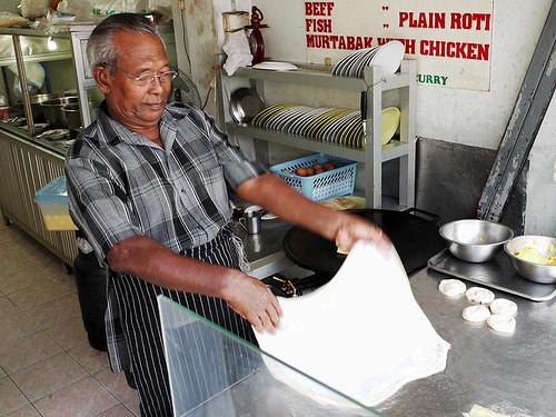 Making Roti