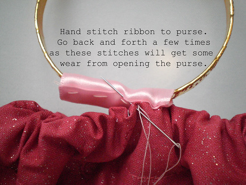 Stitch handle ribbon