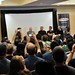 John Carpenter (Far Center - man with white hair on stage), Keith Gordon, & Alexandra Paul at Texas Frightmare 2010