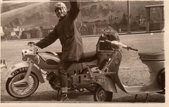 David Leishman's Motorbike