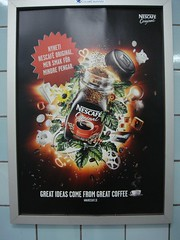 Nescaf Ad (ollesvensson) Tags: print stockholm ad nescafe printad hotorget