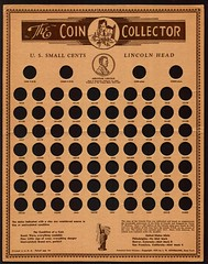 Colonial Coin & Stamp Coin Board C1cB1 face